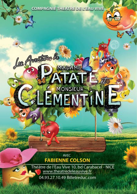 Les Aventures de Madame Patate et Monsieur Clémentine