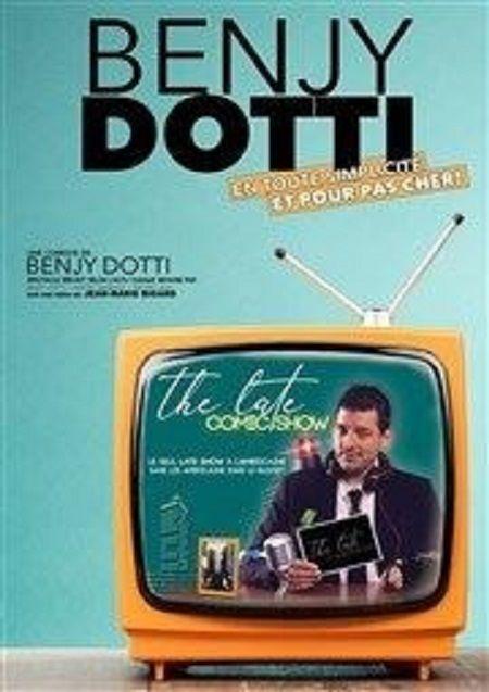 """Benjy Dotti dans """"The Late Comic Show"""""""