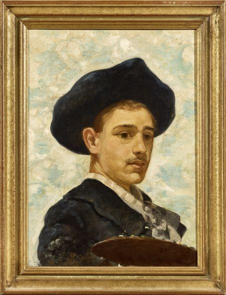Sur les oeuvres de Gustav Adolf Mossa