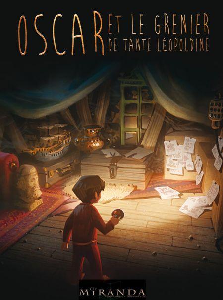 Oscar et le grenier de tante Léopoldine
