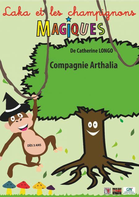 Laka et les champignons magiques