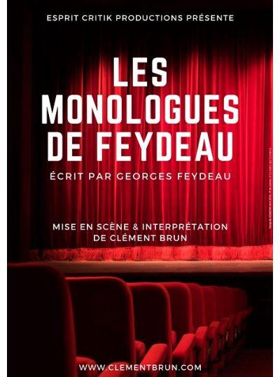 Les Monologues de Feydeau